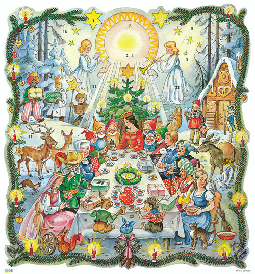 Once Upon a Time Fairy Tale German Advent Calendar