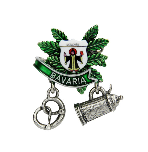 Munich Bavaria German Hat Pin