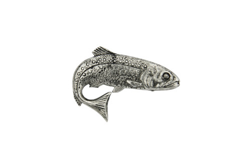 Trout Fishing German Hat Pin