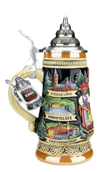 Schwarzwald Cuckoo Clock Beer Stein | 0.25 Liter