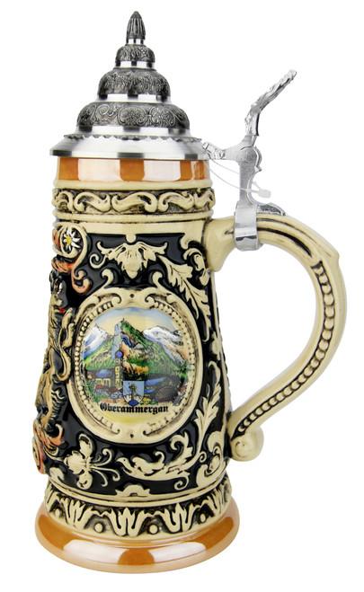 Bavaria Oberammergau German Beer Stein