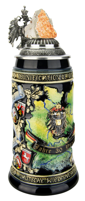30 Years German Reunification Anniversary Beer Stein