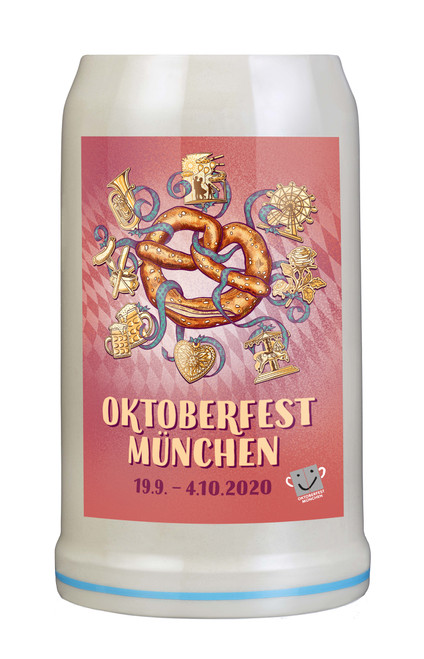 Munich 2020 Official Oktoberfest Beer Mug | Oktoberfest at Home