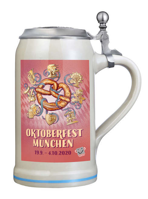 Munich 2020 Official Oktoberfest Beer Stein | Oktoberfest at Home