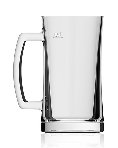 Kora Glass Beer Mug 0.5 Liter