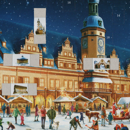 Leipzig German Advent Christmas Calendar