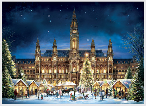 Vienna Austria German Advent Christmas Calendar