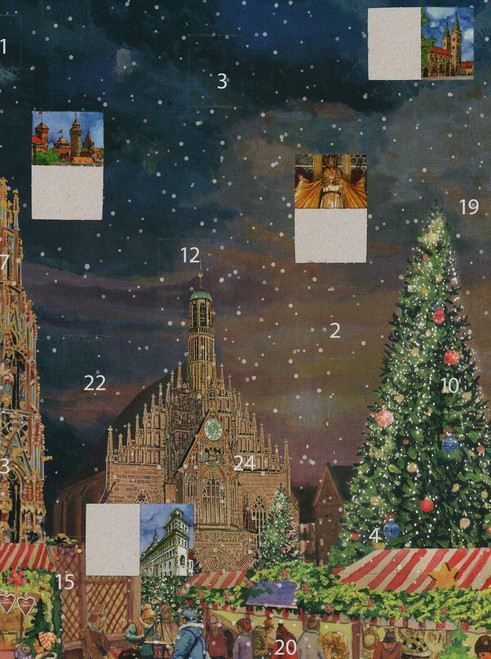 Nuremberg German Advent Christmas Calendar