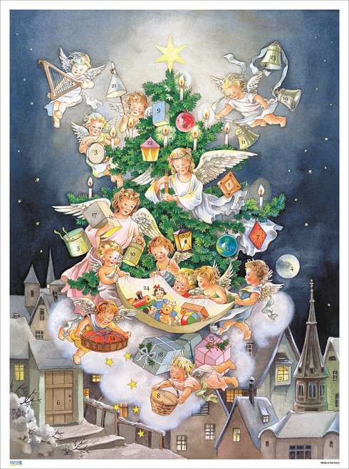 From Heaven High Angels German Advent Calendar