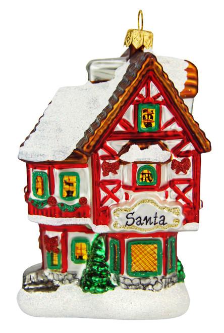 Santas Workshop Christmas Ornament