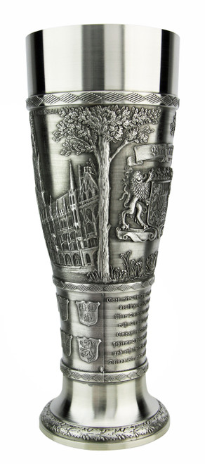 Bavaria Pewter Wheat Beer Tulip
