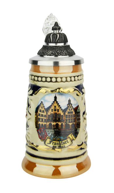 Frankfurt Mini German Schnapps Beer Stein | 0.06 Liter