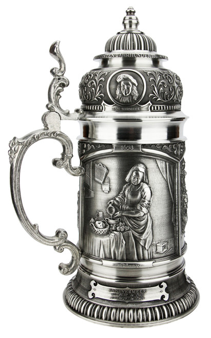 Old Dutch Masters Pewter Beer Stein