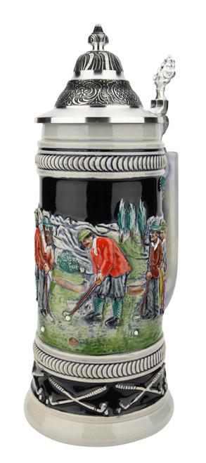 Golfer Beer Stein