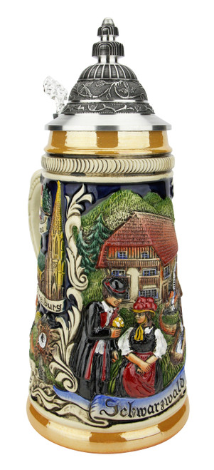 Schwarzwald Black Forest German Beer Stein