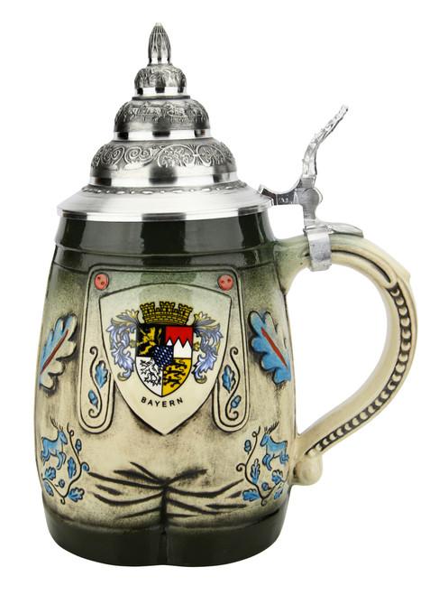 Bavarian Lederhosen 3D Beer Stein