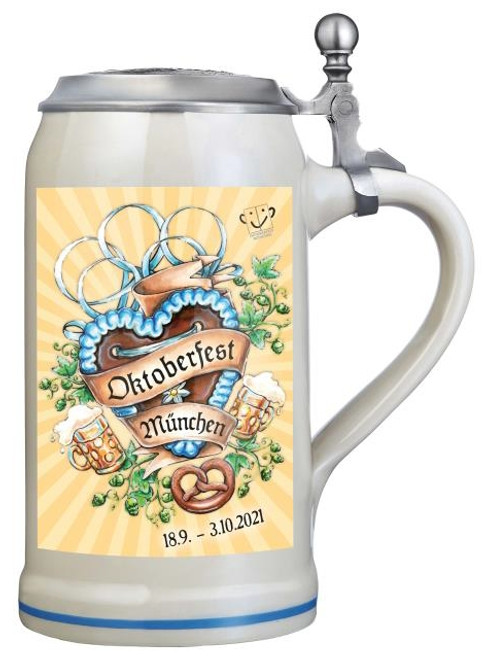 Munich 2021 Official Oktoberfest Beer Stein | Oktoberfest at Home