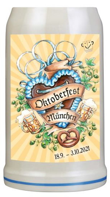 Munich 2021 Official Oktoberfest Beer Mug | Oktoberfest at Home