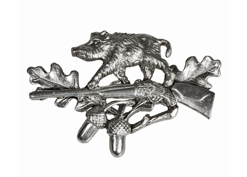 Wild Boar Hunter German Hat Pin