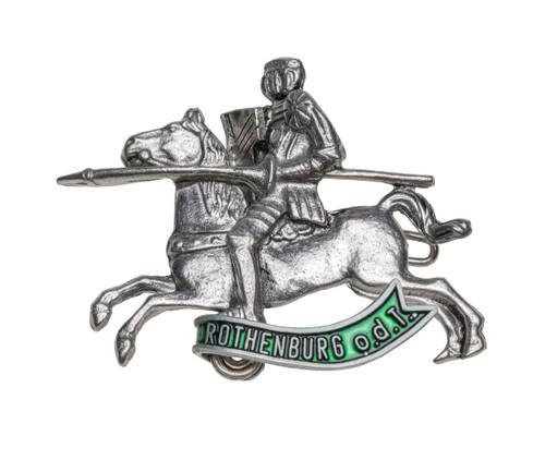 Rothenburg Jousting Knight German Hat Pin