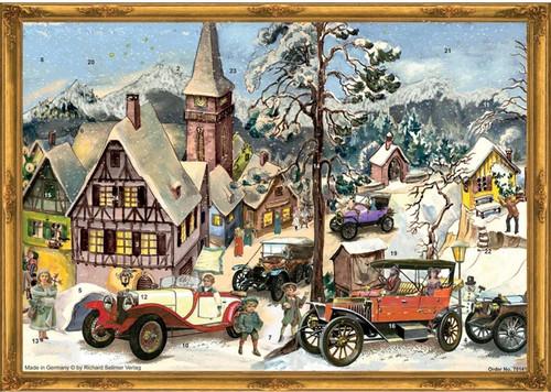Victorian Classic Car Rally German Advent Calendar