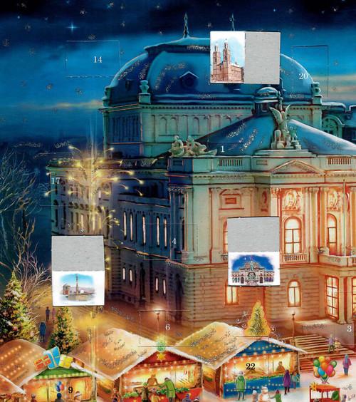 Zurich Switzerland German Advent Christmas Calendar