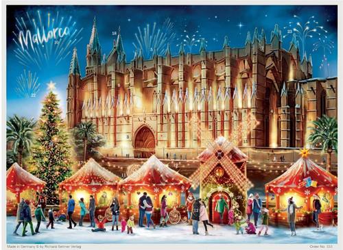 Mallorca Spain German Advent Christmas Calendar