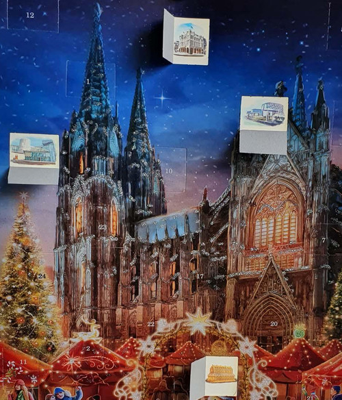 Cologne Cathedral German Advent Christmas Calendar