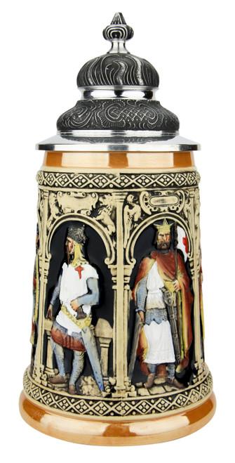 Crusaders Beer Stein | Full Color