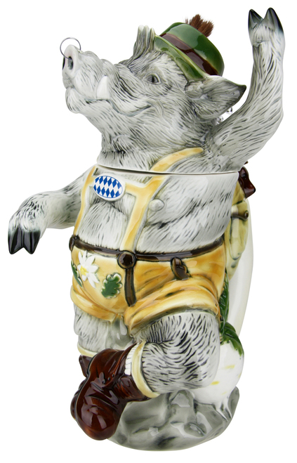 Max the Bavarian Boar Stein
