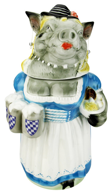 Rosie the Bavarian Boaress Beer Stein