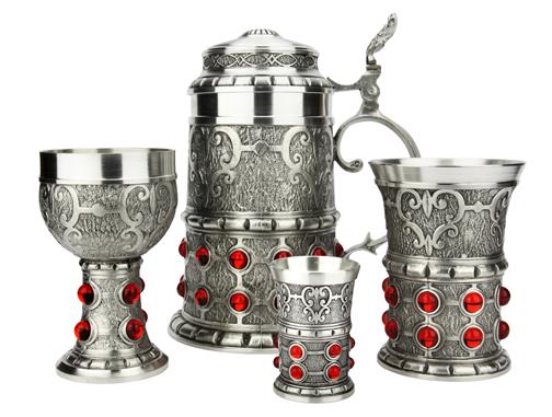 Artina German Pewter Rubin Collection