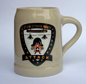 Ceramic Beer Mug with Custom Logo