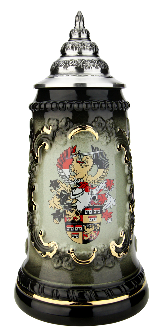 German Made King Werk Beer Stein with Custom Logo