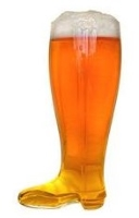 Personalized Custom 2 Liter Boot Beer Glass Mug