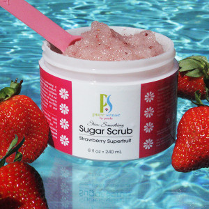Strawberry Superfruit Sugar Scrub
