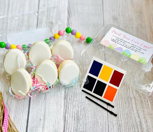Paint your own mini eggs