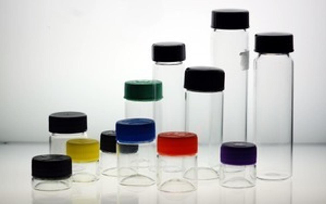 25x25 mm Glass Vials