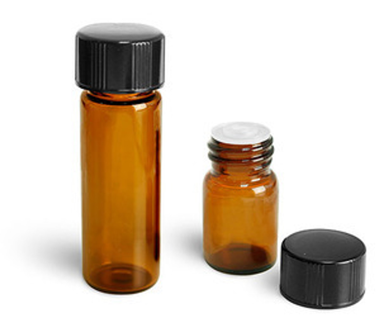 1/4 Dram Vials with Orifice Reducer