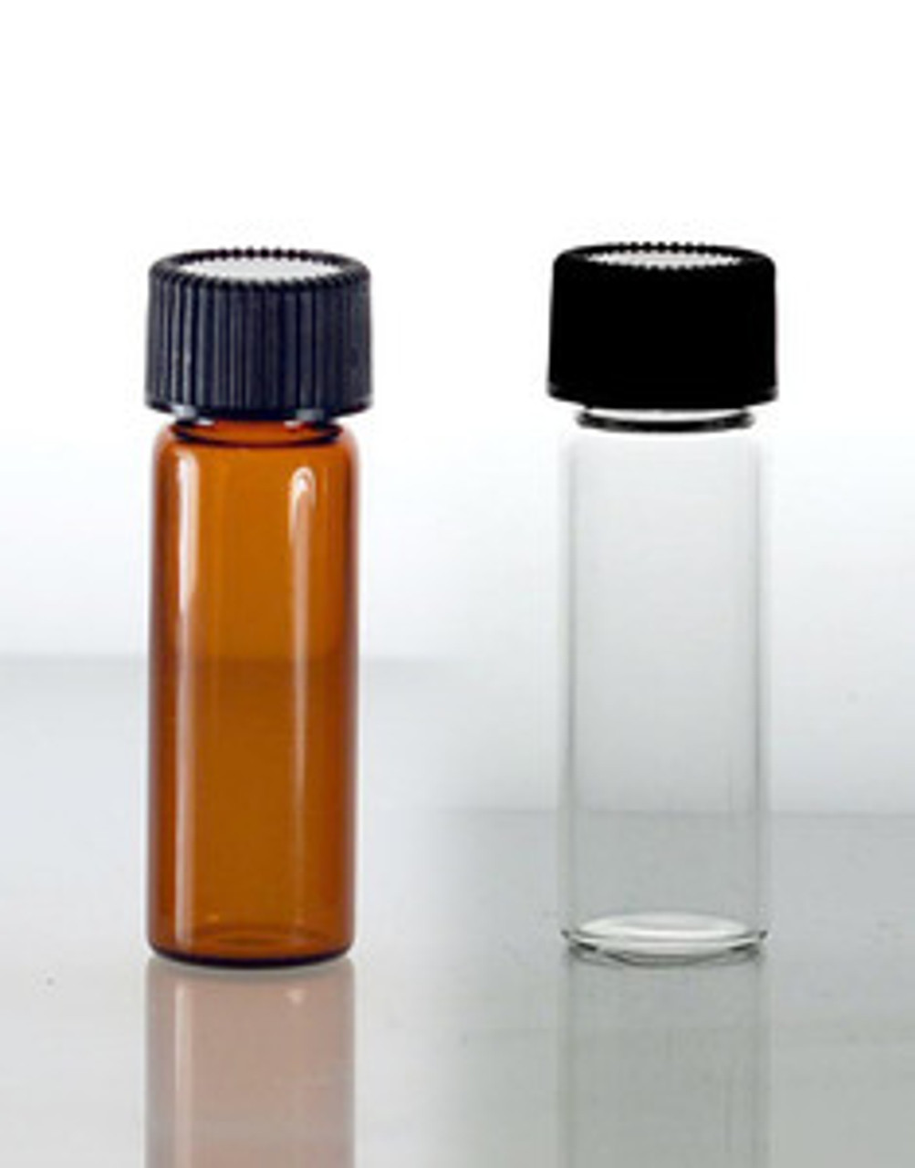 1 Dram Glass Vials With PolySeal Caps