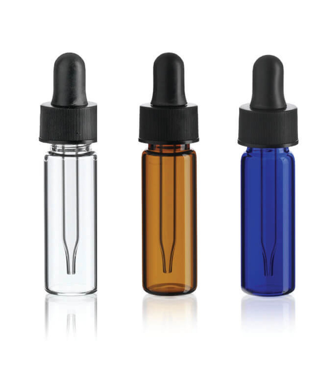 1 Dram Glass Vials With Glass Dropper