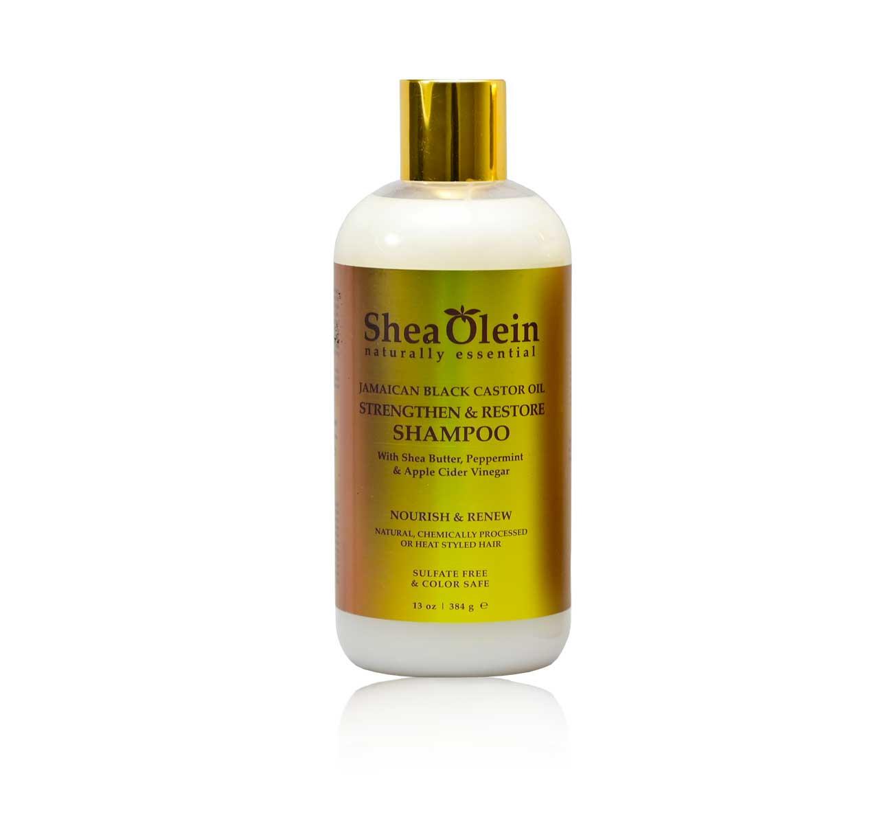 SheaOlein Jamaican Black Castor Oil Shampoo - 13 fl oz