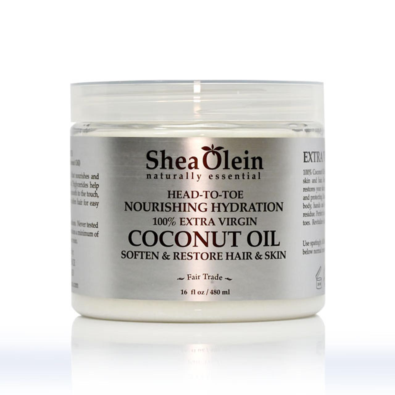 SHEA OLEIN ORGANIC 100% PURE COCONUT HAIR OIL