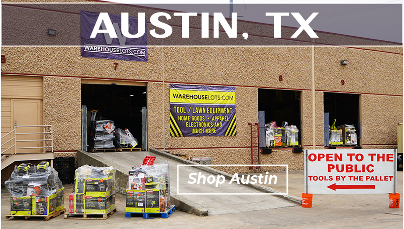 Austin TX Warehouse Lots storefront