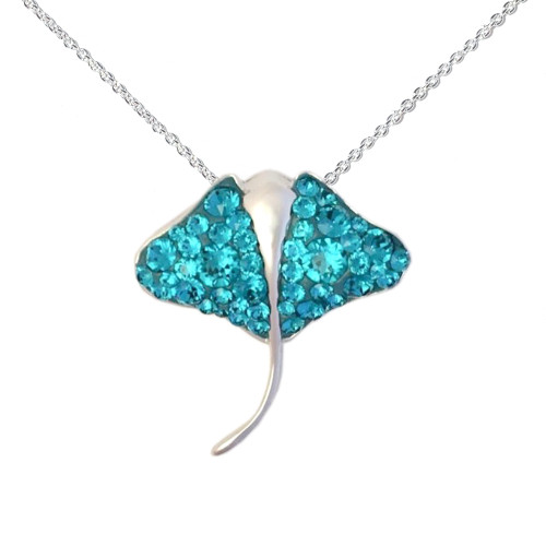 STINGRAY PENDANT PRESCO SWAROVSKI ¨ CRYSTAL ELEMENTS