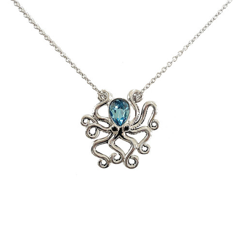 OCTOPUS NECKLACE PRESCO SWAROVSKI ® CRYSTAL ELEMENTS