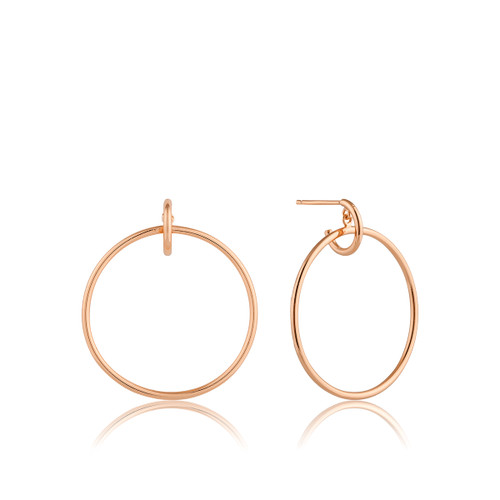 ALL EARS 925 FRONT CIRCLE EARRINGS r