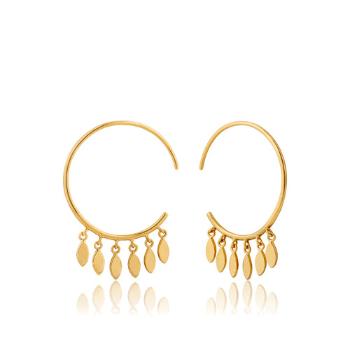 ALL EARS 925 SMALL HOOP EARRINGS g