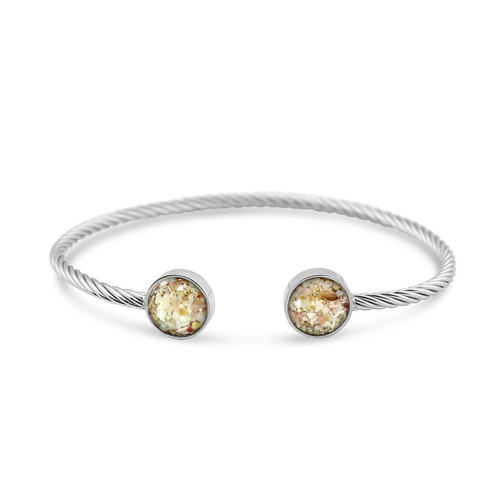 Rope Inlet Cuff - Silver SH