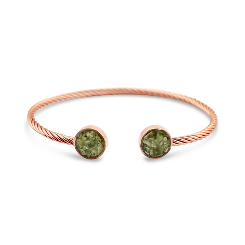 Rope Inlet Cuff - Rose Gold SH